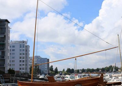 "Columbia Dinghy ""Lili"", Classic Boat Award ehdokas 2017"